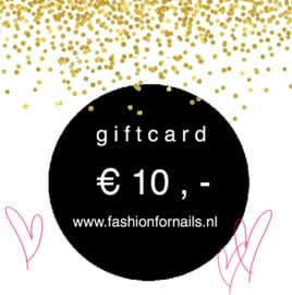 Gift Card € 10,-