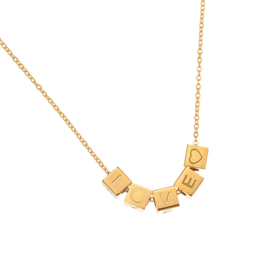 Love Blocks Ketting