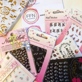 100 sheets different nail stickers, Stock Sale!