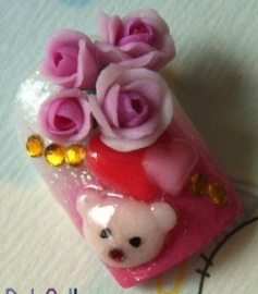si 012 mini roos blaadjes