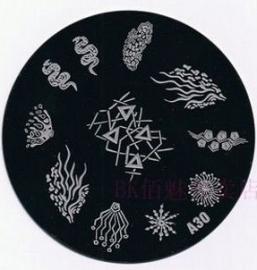 image plate A-30 (diameter 7cm)