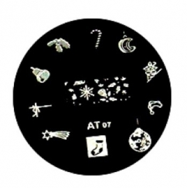 image plate AT-07 (diameter 5,5cm)