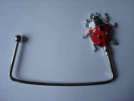 bag hanger Ladybug