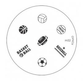 image plate Konad M52 (diameter 5,5cm)