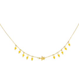 Starlight Necklace - Gold