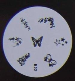 image plate B-02 (diameter 5,5cm)