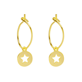 Cut Out Star - Gold / Silver