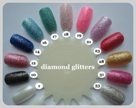 diamond glitter nail polish
