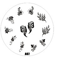 image plate A-07 (diameter 7cm)
