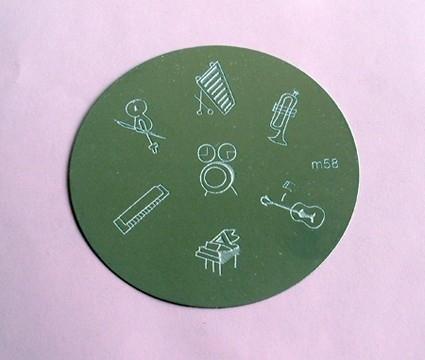 image plate m58 (diameter 5,5cm)