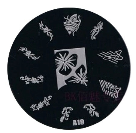 image plate A-19 (diameter 7cm)