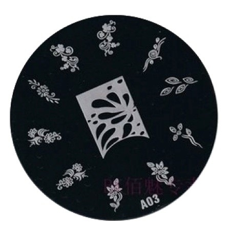 image plate A-03 (diameter 7cm)