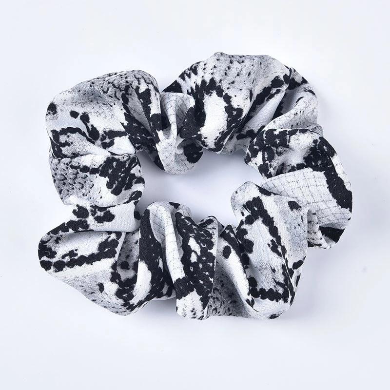 Scrunchie - Snake Grijs
