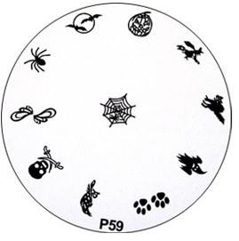 image plate P-59 (diameter 7cm)