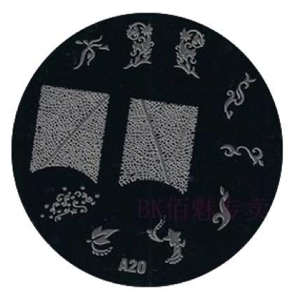 image plate A-20 (diameter 7cm)