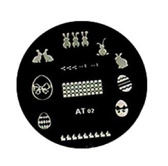 image plate AT-02 Pasen! (diameter 5,5 cm)