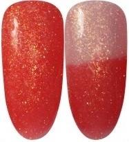 Gellak Chameleon-58 perzik glitters