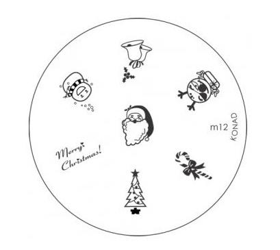image plate Konad M12 (diameter 5,5cm)
