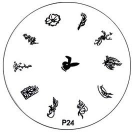 image plate P-24 (diameter 7cm)