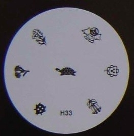 image plate H-33 (diameter 5,5cm)