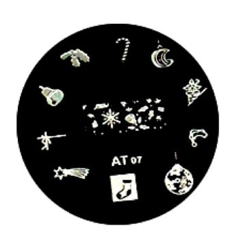 image plate AT-07 (diameter 5,5cm)