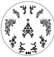 image plate A-45 (diameter 7cm)