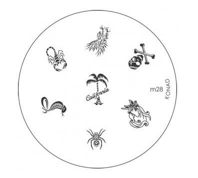 image plate Konad M28 (diameter 5,5cm)