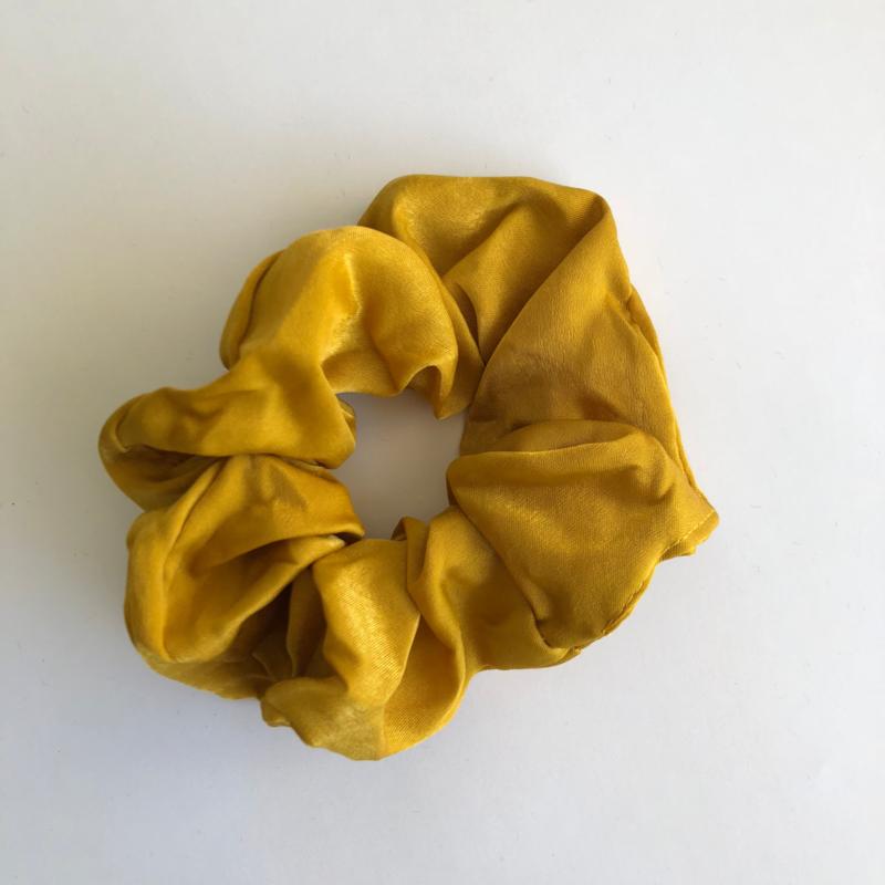 Scrunchie - Geel