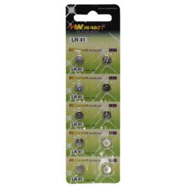 LR41 Knoopcel batterijen - 10 stuks