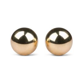 Goudkleurige Ben Wa Ballen 22 mm