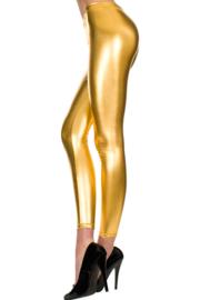 Metalic legging - goud