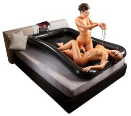 Opblaasbaar lak bed