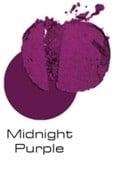 Dark skin eyeshadow - midnight purple