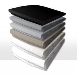 Damai nightkiss topdekhoes double jersey met enkele split, voor comfort topper of dun matras 10 tot 15 cm
