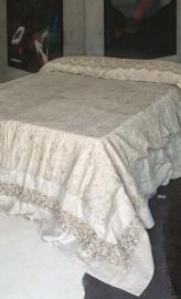 Arte Pura sprei/plaid Ribes 270x270 cm  linnen