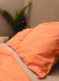 Kayori Sari  Oranje Dekbedovertrek Katoen