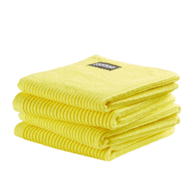 Vaatdoek DDDDD basic clean bright yellow