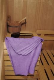 A&R saunalaken 100x210 cm  light purple badstof