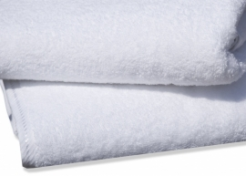 Handdoek A&R 50x100 cm wit set 3 stuks
