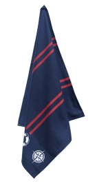 Theedoek Elias Nautical donkerblauw (navy)