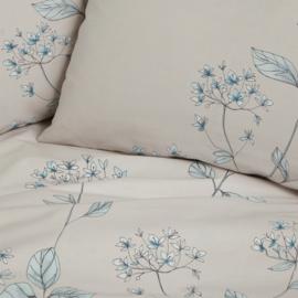 Dekbedovertrek Cinderella Devon katoen kleur Lilac ash