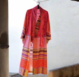 Kimono Bassetti Portofino V1 Rosso maat S/M en L/XL