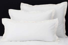 Flamant kussensloop Mix&Match Paisley white - ivory 50% bamboe - 50% katoen set van 2 stuks verschillende maten leverbaar