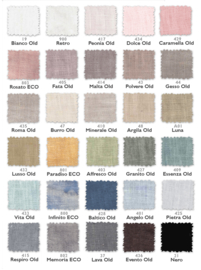 Arte Pura plaid Visconte maat 200x250 cm met of zonder pendants leverbaar in alle kleuren van de kleurenkaart