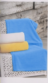 2 persoons Strandlaken 160x220 cm kleur blauw