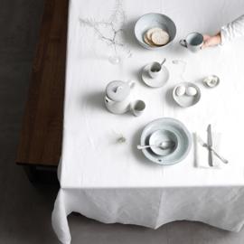 DDDDD Cabin Tafellaken  Linnen  wit met of zonder servetten
