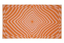 Strandlaken Arkhipelagos Spiral orange 100x180 cm dik en zacht