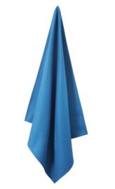 Theedoek Elias Solid blauw
