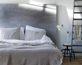 Passion for Linen dekbedovertrek Belle met een linnen bovenkant en katoensatijn onderkant