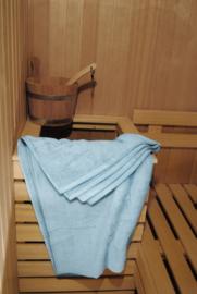 A&R saunalaken 100x210 cm lightblue badstof
